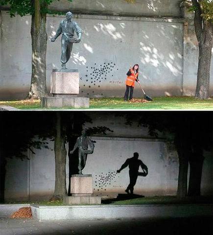 Dita dhe nata. Monument në Kaunas , Lituani