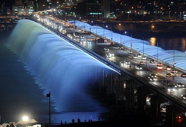 Ura Banpo në Seul, Koreja e Jugut.