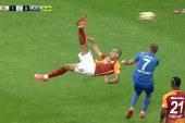 Futbollisti i Gallatasarajit shënon një supergol: e mahnitshme! (video)