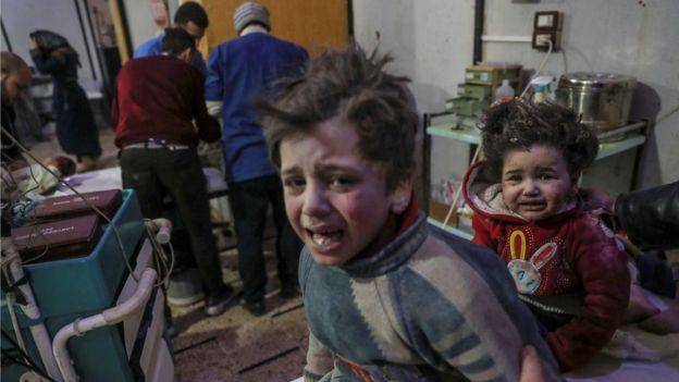 Rikthehen masakrat e regjimit në Siri  20 fëmijë të vrarë në Ghouta n Lindore