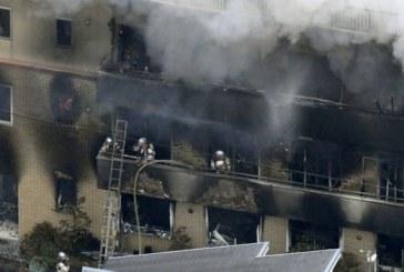 Tragjedi në studion filmike në Japoni, zjarrvënia merr jetën e dhjetërave personave