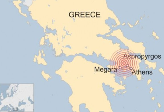 Një tërmet i fuqishëm shkund Athinën