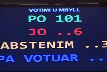 """Mazhoranca """"shkarkon"""" Metën për herë të dytë: mbi 100 vota për ngritjen e Komisionit Hetimor"""