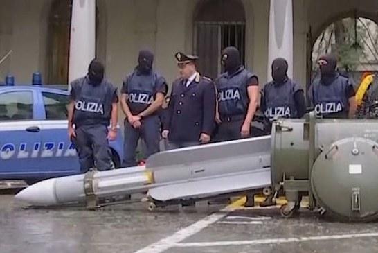 E pabesueshme nga një operacion policor: raketë tokë-ajër në duart e ultrasve të Juventusit