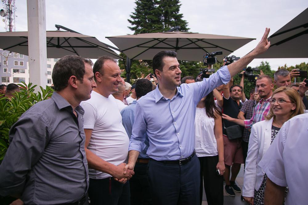 Basha në Shkodër  thellon fitoren  e 30 qershorit  u bojkotua nga 95  e shqiptarëve