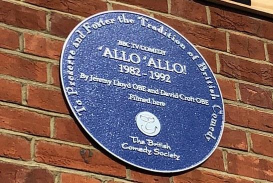 """Një pllakë përkujtimore për """"Alo Alo""""-n e famshme (video)"""