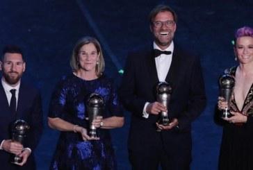 """ÇMIMET/ """"Best FIFA"""": triumfuesit dhe disa detaje përcaktuese"""