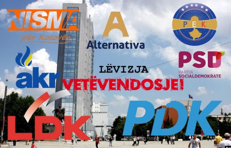 Partitë politike në Kosovë me fushatë dhe premtime  copy paste