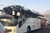 Tragjedi pelegrinësh në Medine, 35 jetë të humbura nga përplasja e autobusit
