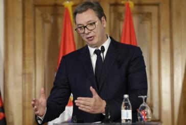 """Vuçiç kapet me """"Jo""""-në e negociatave: po e njohëm Kosovën, mund të na ndodh dhe ne (si Maqedonia Veriore)"""