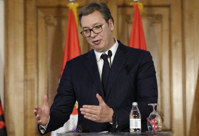 Vuçiç kapet me  Jo  në e negociatave  po e njohëm Kosovën  mund të na ndodh dhe ne  si Maqedonia Veriore