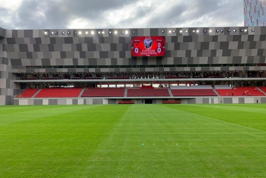 """Shpëndahen fotot: Ky është Air Albania Stadium, me """"Qemal Stafën"""" brenda"""