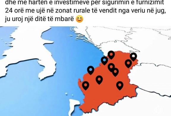 """PIKËPYETJA/ Djallëzi apo syleshësi? Ujësjellësat e Ramës lënë """"Kosovën nën Serbi"""", gabimi korrigjohet pas një ore"""