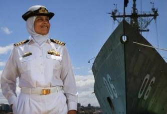 Mona Shindy, kjo është kapitenia e famshme e Marinës Mbretërore Australiane