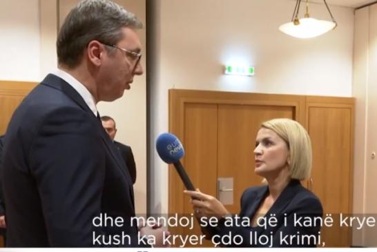"""PRONONCIMI/ Mohimi si këndvështrim, Vuciç flet për """"Raçakët"""" e luftës: unë vetë s'kam kryer krime!"""