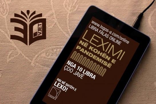 """""""Rri në shtëpi dhe lexo!"""", Logos A: Sfidoje Corona-n me libra, online dhe falas"""