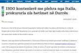 """Lojë Fake News-esh: """"Kimikatet"""" italiane të Ramës në kohën e """"Çadrës"""", hetimet ndalen te Meta"""