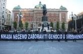 """""""Gratë në të Zeza"""" të Beogradit: Autorët e Srebrenicës dje, në pushtet sot"""