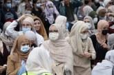 Protestë në Bruksel kundër ndalimin e veshjes së hixhabit në shkollat e mesme