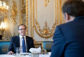 """Në krye të Dialogut si """"në ëndërr"""", Hoti pas takimit me Macron: Franca, krah Kosovës!"""